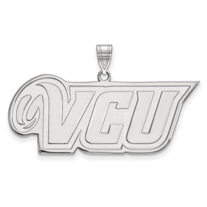 Picture of Virginia Commonwealth University Rams Sterling Silver Large Pendant