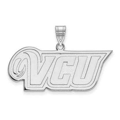 Picture of Virginia Commonwealth University Rams Sterling Silver Medium Pendant