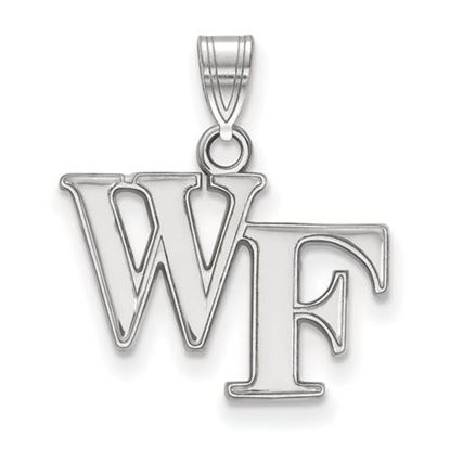 Picture of Wake Forest University Demon Deacons Sterling Silver Small Pendant