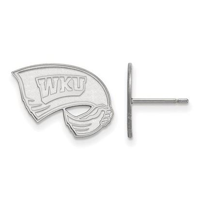 Picture of Western Kentucky University Hilltoppers Sterling Silver Small Post Earrings