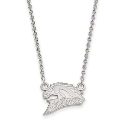 Picture of Western Michigan University Broncos Sterling Silver Small Necklace
