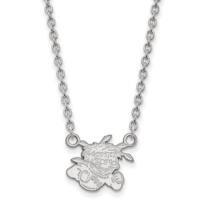 Picture of Wichita State University Shockers Sterling Silver Small Necklace