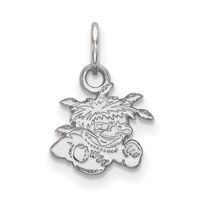 Picture of Wichita State University Shockers Sterling Silver Extra Small Pendant