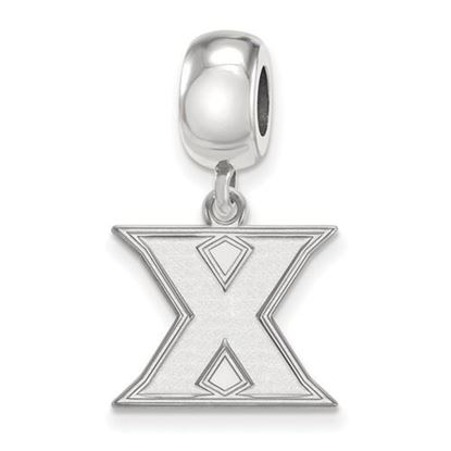 Picture of Xavier University Musketeers Sterling Silver Small Dangle Bead