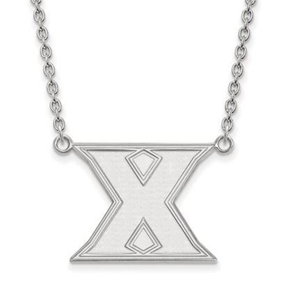 Picture of Xavier University Musketeers Sterling Silver Large Necklace