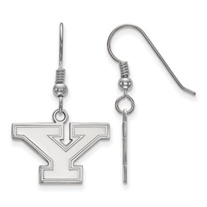 Picture of Youngstown State University Penguins Sterling Silver Small Dangle Earrings