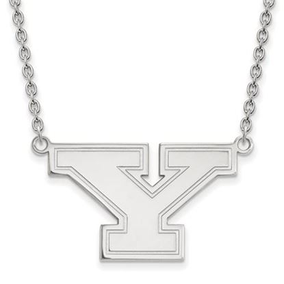 Picture of Youngstown State University Penguins Sterling Silver Large Necklace