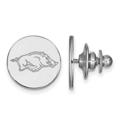 Picture of University of Arkansas Razorbacks Sterling Silver Lapel Pin