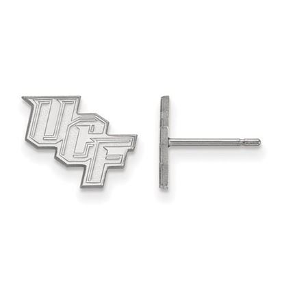 Picture of University of Central Florida Knights Sterling Silver Extra Small Post Earrings