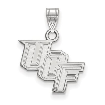 Picture of University of Central Florida Knights Sterling Silver Small Pendant