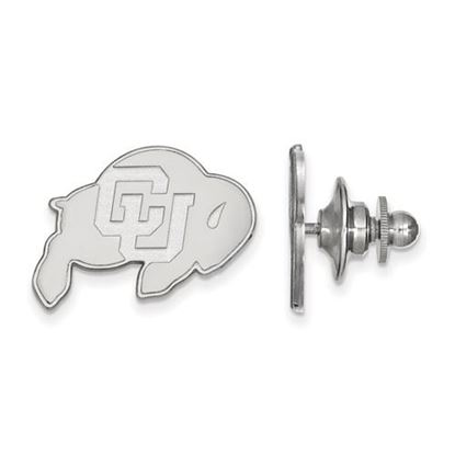 Picture of University of Colorado Buffaloes Sterling Silver Lapel Pin