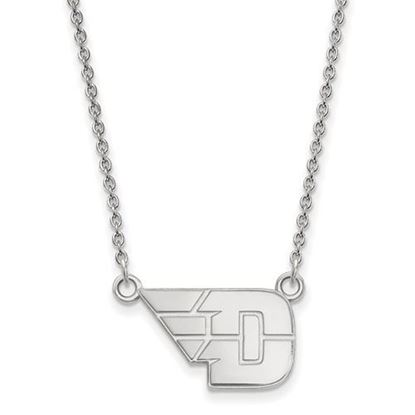 Picture of University of Dayton Flyers Sterling Silver Small Necklace