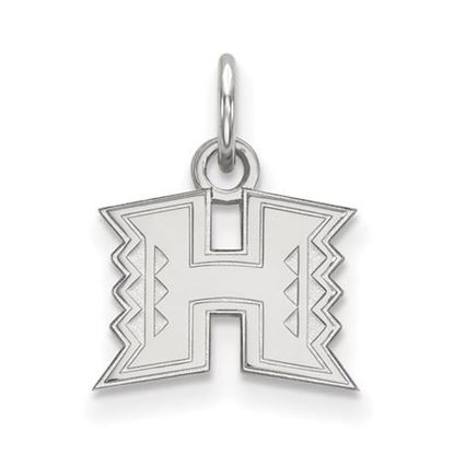 Picture of University of Hawaii Rainbow Warriors Sterling Silver Extra Small Pendant