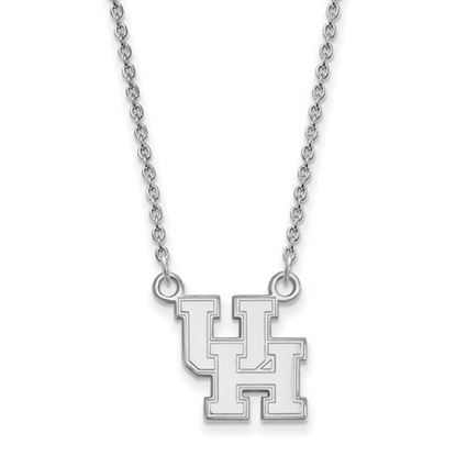 Picture of University of Houston Cougars Sterling Silver Small Necklace
