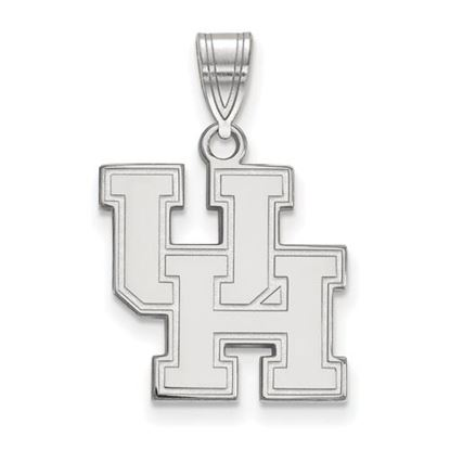 Picture of University of Houston Cougars Sterling Silver Medium Pendant