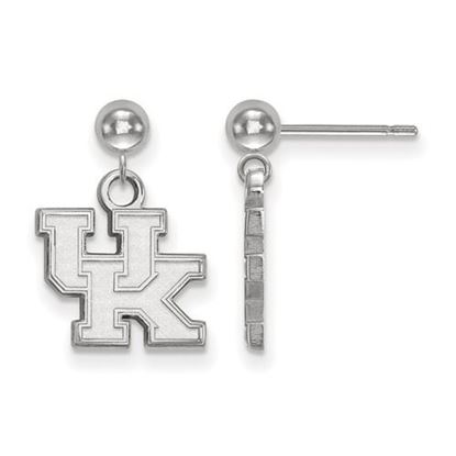Picture of University of Kentucky Wildcats Sterling Silver Dangle Earrings