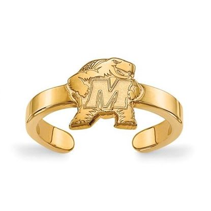 Picture of Maryland Terrapins Gold Plated Toe Ring