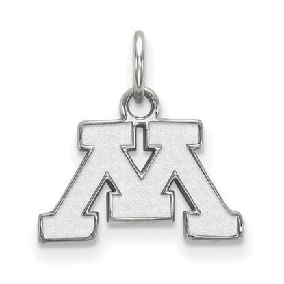 Picture of University of Minnesota Golden Gophers Sterling Silver Extra Small Pendant
