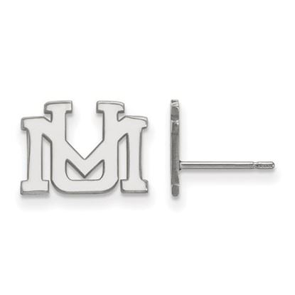 Picture of University of Montana Grizzlies Sterling Silver Extra Small Post Earrings