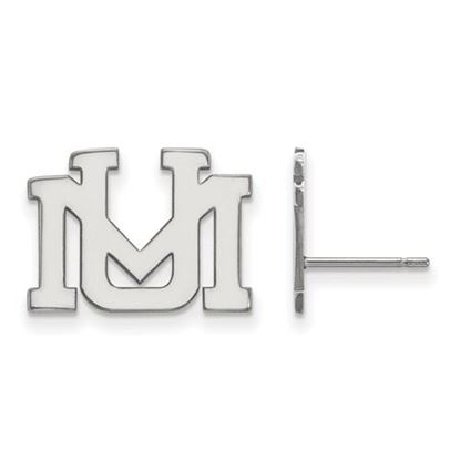 Picture of University of Montana Grizzlies Sterling Silver Small Post Earrings