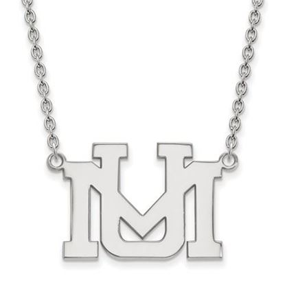 Picture of University of Montana Grizzlies Sterling Silver Large Necklace