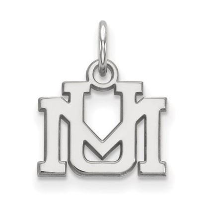 Picture of University of Montana Grizzlies Sterling Silver Extra Small Pendant