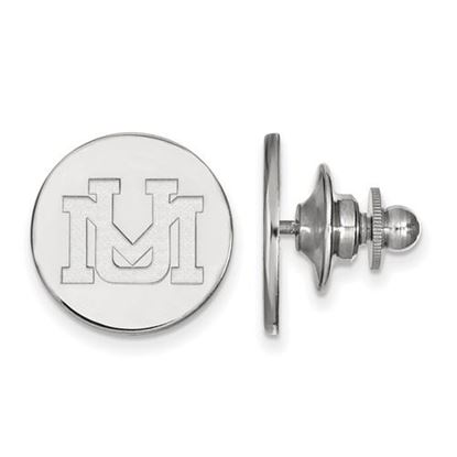 Picture of University of Montana Grizzlies Sterling Silver Lapel Pin