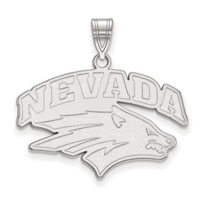 Picture of University of Nevada Wolfpack Sterling Silver Large Pendant