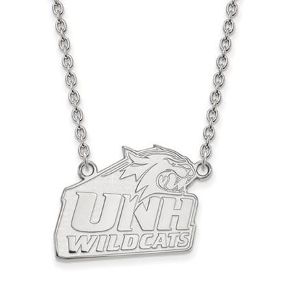 Picture of University of New Hampshire Wildcats Sterling Silver Large Necklace