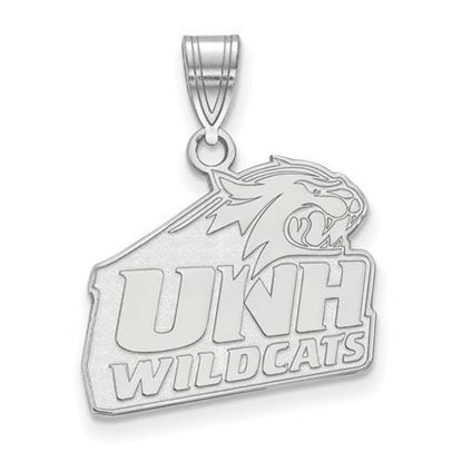 Picture of University of New Hampshire Wildcats Sterling Silver Medium Pendant