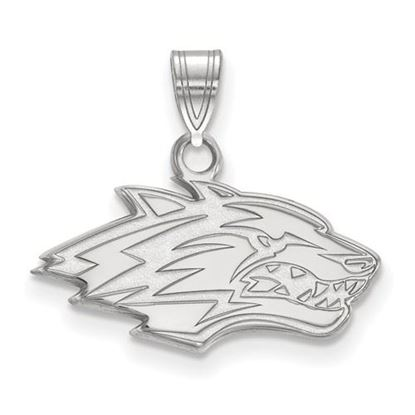 Picture of University of New Mexico Lobos Sterling Silver Small Pendant
