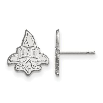 Picture of University of New Orleans Privateers Sterling Silver Small Post Earrings