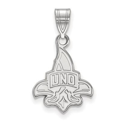 Picture of University of New Orleans Privateers Sterling Silver Medium Pendant