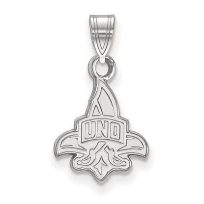 Picture of University of New Orleans Privateers Sterling Silver Small Pendant