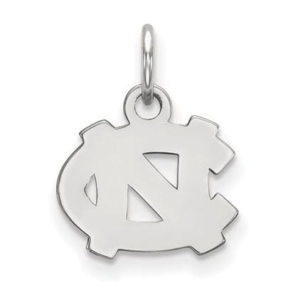 Picture of University of North Carolina Tar Heels Sterling Silver Extra Small Pendant