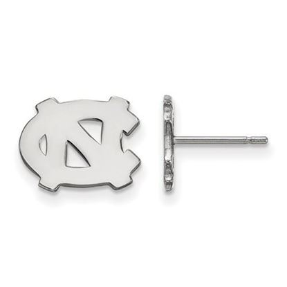 Picture of University of North Carolina Tar Heels Sterling Silver Extra Small Post Earrings