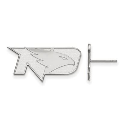Picture of University of North Dakota Fighting Hawks Sterling Silver Small Post Earrings