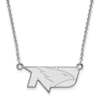 Picture of University of North Dakota Fighting Hawks Sterling Silver Small Necklace