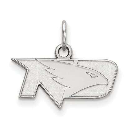 Picture of University of North Dakota Fighting Hawks Sterling Silver Extra Small Pendant
