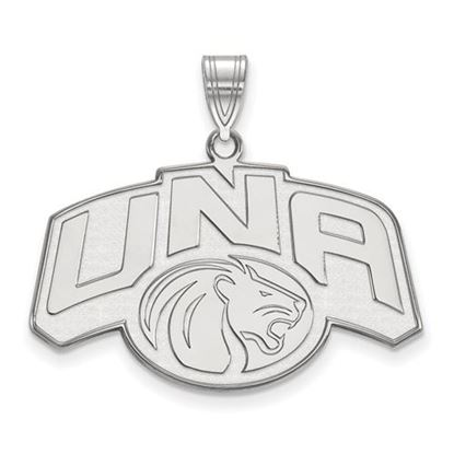 Picture of University of Northern Alabama Lions Sterling Silver Large Pendant