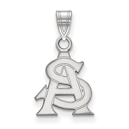 Picture of Arizona State University Sun Devils Sterling Silver Small Pendant