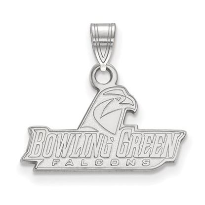 Picture of Bowling Green State University Falcons Sterling Silver Small Pendant