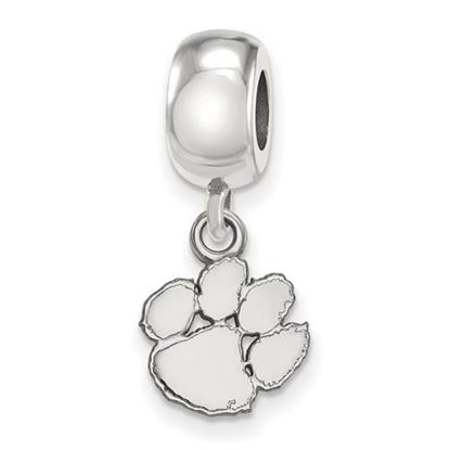 Picture of Clemson University Tigers Sterling Silver Extra Small Bead Charm