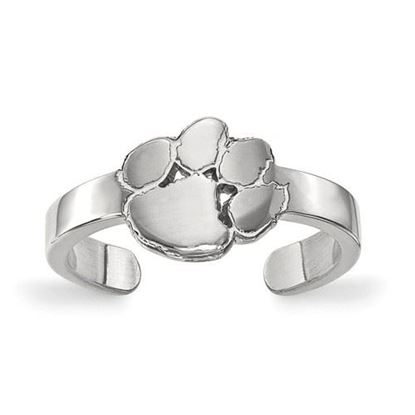 Picture of Clemson University Tigers Sterling Silver Toe Ring