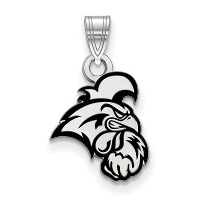 Picture of Coastal Carolina University Chanticleers Sterling Silver Small Enameled Pendant