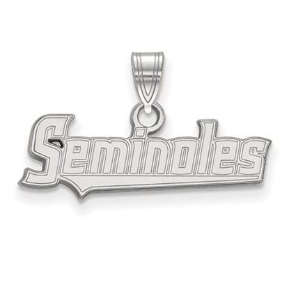 Picture of Florida State University Seminoles Sterling Silver Small Pendant