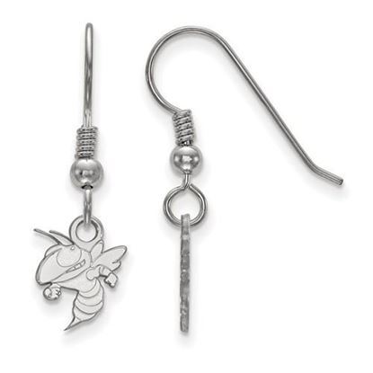 Picture of Georgia Tech Yellow Jackets Sterling Silver Extra Small Dangle Earrings