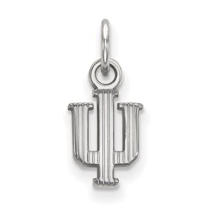 Picture of Indiana University Hoosiers Sterling Silver Extra Small Pendant