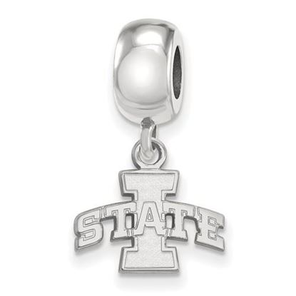 Picture of Iowa State University Cyclones Sterling Silver Extra Small Bead Charm