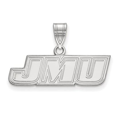 Picture of James Madison University Dukes Sterling Silver Small Pendant
